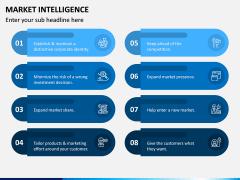 Market Intelligence PPT Slide 12