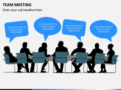 Team Meeting PPT Slide 12