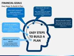 Financial Goals PPT Slide 1