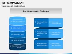 Test Management PPT slide 15