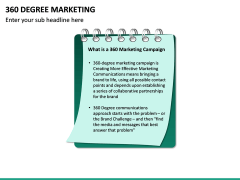 360 Degree Marketing PPT Slide 14