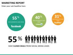 Marketing report PPT slide 15
