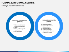 Formal and Informal Culture PPT Slide 7