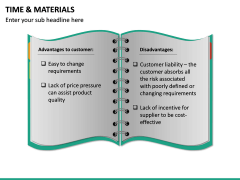 Time and Materials PPT Slide 22