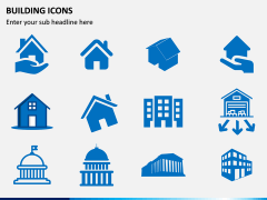 Building Icons PPT Slide 11