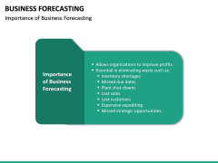 Business Forecasting PPT Slide 22