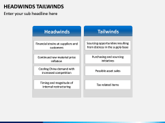 Headwinds Tailwinds PPT Slide 5