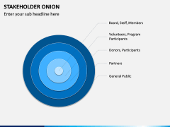 Stakeholder Onion PPT Slide 5