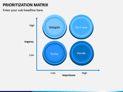 Prioritization Matrix PPT Slide 2