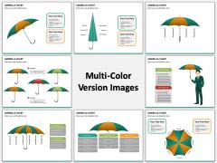 Umbrella Chart Multicolor Combined