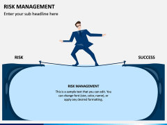 Risk Management PPT Slide 1