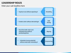 Leadership Roles PPT Slide 9