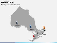 Ontario Map PPT Slide 3