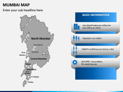 Mumbai Map PPT Slide 6