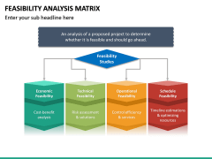 Feasibility Analysis Matrix PPT Slide 14