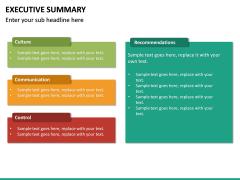 Executive Summary PPT Slide 36