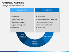 Portfolio and Risk PPT Slide 3