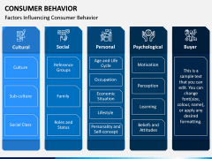 Consumer Behavior PPT Slide 8