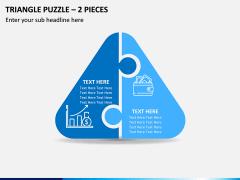 Triangle Puzzle – 2 Pieces PPT Slide 1