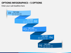 Options Infographics – 5 Options PPT Slide 1
