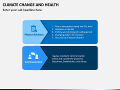 Climate Change and Health PPT Slide 5