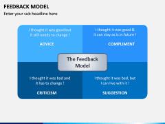 Feedback Model PPT Slide 1