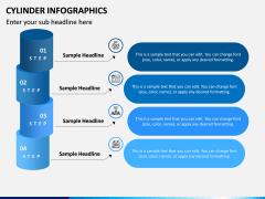 Cylinder Infographics PPT Slide 8