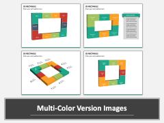 3D rectangle PPT slide MC Combined