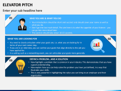 Elevator Pitch PPT Slide 1