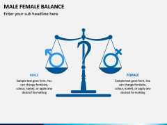 Male Female Balance PPT Slide 4