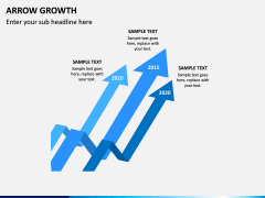 Arrow Growth PPT Slide 7