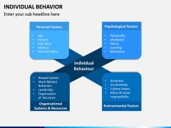 Individual Behavior PPT Slide 1