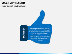 Voluntary Benefits PPT Slide 1