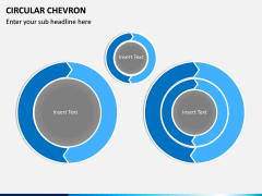 Circular Chevron PPT Slide 1