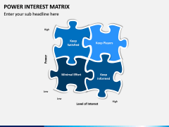 Power Interest Matrix PPT Slide 4