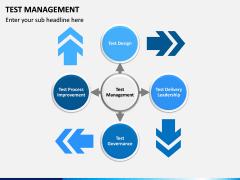 Test Management PPT slide 1
