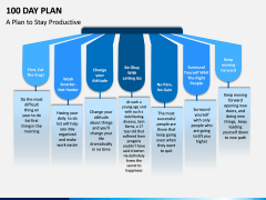 100 Day Plan PPT Slide 14