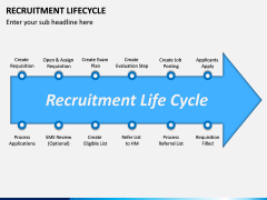 Recruitment Life Cycle PPT slide 6