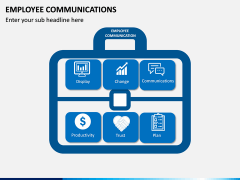 Employee Communications PPT Slide 1