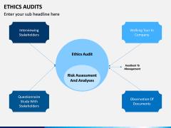 Ethics Audit PPT Slide 1