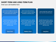 Short Term and Long Term Plan PPT Slide 15