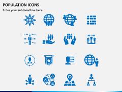 Population Icons PPT Slide 1