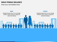Male Female Balance PPT Slide 5