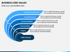 Business Core Values PPT Slide 7