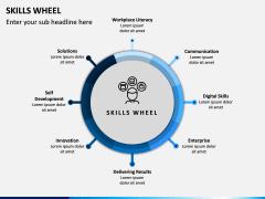 Skills Wheel PPT Slide 5