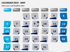 Calendar 2019 PPT Slide 5