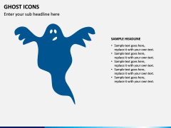 Ghost Icons PPT Slide 6