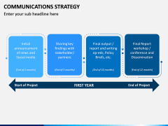 Communications Strategy PPT slide 13
