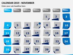 Calendar 2019 PPT Slide 11