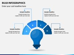 Bulb Infographics PPT Slide 6